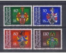 1982 - LOTTO/4577U - LIECHTENSTEIN - STEMMI - USATI