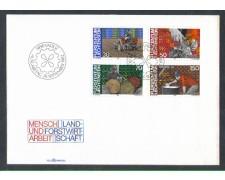 1982 - LOTTO/4576Z - LIECHTENSTEIN - LAVORO - BUSTA FDC