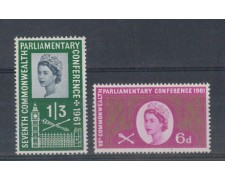 1961 - LOTTO/4665 - GRAN BRETAGNA - CONFERENZA COMMONWEALTH
