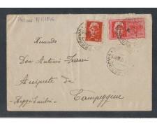 1946 - LUOGOTENENZA -  LBF/496C - PARMA BUSTA ESPRESSO PER REGGIO EMILIA