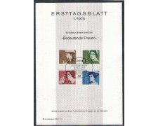 1975 - LOTTO/5292Z - GERMANIA FEDERALE - DONNE CELEBRI - E.T.B.
