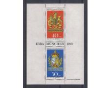 1973 - LOTTO/GFBF8N - GERMANIA  - IBRA 73 FOGLIETTO - NUOVO