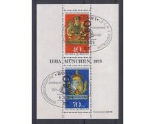 1973 - LOTTO/5332U - GERMANIA FEDERALE - IBRA 73 - FOGLIETTO UST