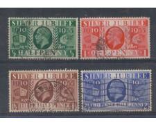 1935 - LBF/2006A - GRAN BRETAGNA - GIUBILEO DI RE GIORGIO - USAT