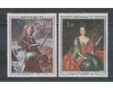 1972 - LOTTO/901 - MONACO - RITRATTI DI PRINCIPI