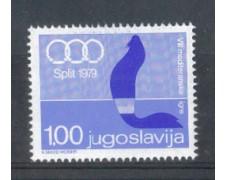 1979 - LOTTO/5004 - JUGOSLAVIA - GIOCHI DEL MEDITERRANEO