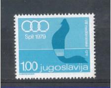 1979 - LOTTO/5005 - JUGOSLAVIA - GIOCHI DEL MEDITERRANEO