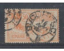 1903 - LOTTO/4966A - ROMANIA - 50b. HOTEL DELLA POSTA