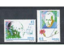 1993 - LOTTO/3091 - SPAGNA - ESPLORATORI E NAVIGATORI