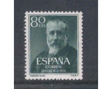 1954 - LBF/2788 - SPAGNA - GIORNATA FRANCOBOLLO