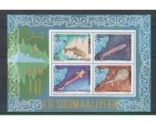 1979 - LBF/2754 - SOMALIA - PESCI - FOGLIETTO NUOVO