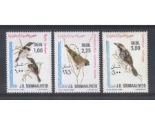 1980 - LBF/2760 - SOMALIA - UCCELLI SOMALI 3v. - NUOVI