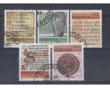 1981 - LOTTO/823U - FAEROER - ANTICHI SCRITTI - USATI