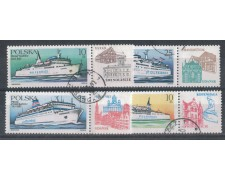 1986 - LOTTO/4857U - POLONIA - TRASPORTI MARITTIMI