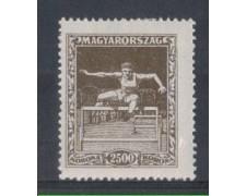 1925 - LOTTO/4775F - UNGHERIA - 2500K. CORSA OSTACOLI