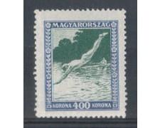 1925 - LOTTO/4775C - UNGHERIA - 400k. NUOTO