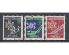 1956 - LOTTO/4853U - POLONIA - SPORT INVERNALI