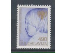 1979 - LOTTO74852 - JUGOSLAVIA - ANNO DEL FANCIULLO