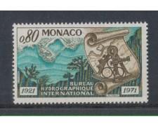 1971 - LOTTO/8422 - MONACO - UFFICIO IDROGRAFICO