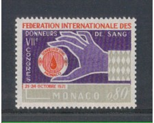1971 - LOTTO/8423 - MONACO - DONATORI DI SANGUE