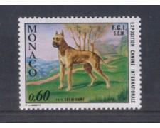 1972 - LOTTO/8431 - MONACO - ESPOSIZIONE CANINA