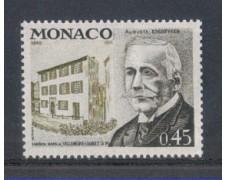 1972 - LOTTO/8443 - MONACO - AUGUSTO ESCOFFIER