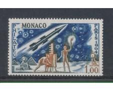 1964 - LOTTO/8448 - MONACO - PHILATEC PARIGI