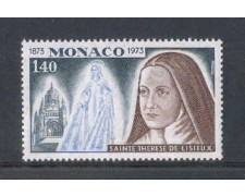 1973 - LOTTO/8475 - MONACO - S.TERESA DI LISIEUX