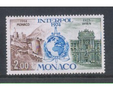 1974 - LOTTO/8487 - MONACO - INTERPOL