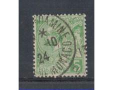 1901 - LOTTO/4953U - MONACO - 5c. VERDE GIALLO - USATO