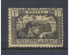 1922 - LOTTO/8497U - MONACO - 1Fr. VEDUTE - USATO