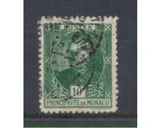 1923 - LOTTO/8499U - MONACO - 10c. LUIGI II° - USATO