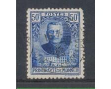 1923 - LOTTO/8499UD - MONACO - 50c. LUIGI II° - USATO