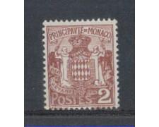 1924 - LOTTO/8502 - MONACO - 2c. BRUNO STEMMA