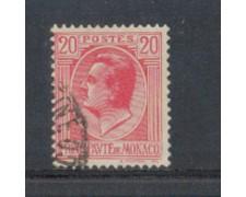 1924 - LOTTO/8509U - MONACO - 20c. ROSA - USATO
