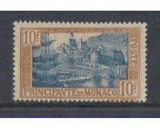 1924 - LOTTO/8533 - MONACO - 10 Fr. BISTRO AZZURRO