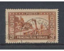 1933 - LOTTO/8542UB - MONACO - 20c. VEDUTE - USATO