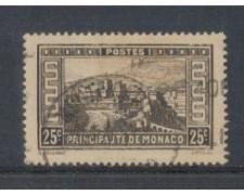 1933 - LOTTO/8542UC - MONACO - 25c. VEDUTE - USATO