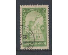 1933 - LOTTO/8542UD - MONACO - 30c. VEDUTE - USATO
