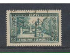 1933 - LOTTO/8542UF - MONACO - 65c. - VEDUTE - USATO