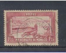 1933 - LOTTO/8542UI - MONACO - 1,25 Fr. VEDUTE - USATO