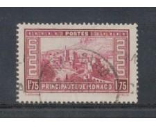 1933 - LOTTO/8542UL - MONACO - 1,75 Fr. VEDUTE - USATO