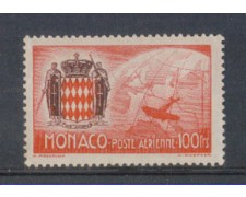 1941 - LOTTO/8573FL - MONACO - 100 Fr. POSTA AEREA
