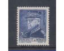 1941 - LOTTO/8574HL - MONACO - 2,50 Fr. AZZURRO