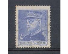 1941 - LOTTO/8574IU - MONACO - 4 Fr. AZZURRO - USATO