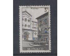 1942 - LOTTO/8576LU - MONACO - 3 Fr. NERO VEDUTE - USATO