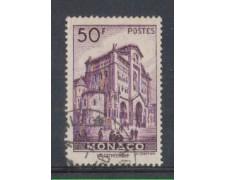 1942 - LOTTO/8576RU - MONACO - 50 Fr. VIOLETTO VEDUTE - USATO