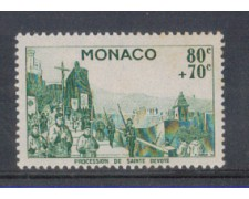 1944 - LOTTO/2577C - MONACO - 80+70c. BENEFICENZA