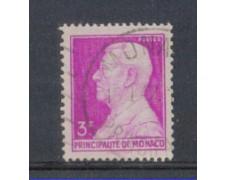 1946 - LOTTO/8581BU - MONACO - 3 Fr. LILLA - USATO