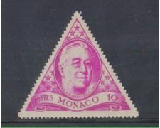 1946 - LOTTO/8587A - MONACO - 10c. ROOSEVELT